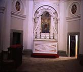 Interior view of the chapel, possibly designed by Giacomo Vignola (1507-73) (photo) 1769