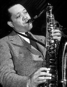 Jazz saxophonist Lester Young c. 1953