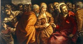 J.Tintoretto / Christ and Adulteress