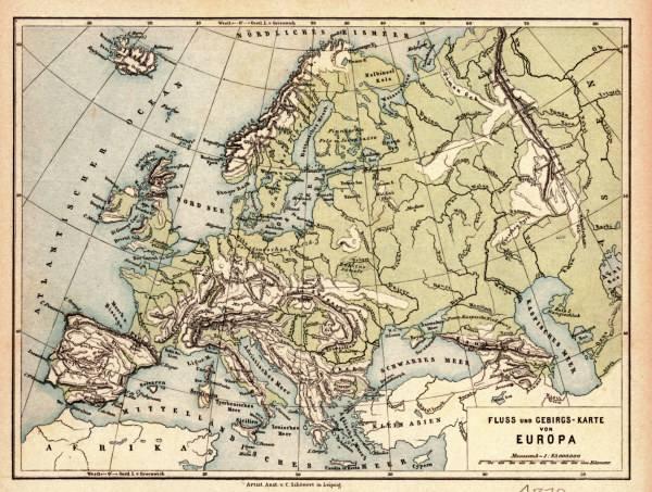 landkarte europa 1878 artist artist als kunstdruck oder handgemaltes gem lde. Black Bedroom Furniture Sets. Home Design Ideas