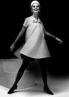 Lanvin fashion for spring-summer collection 1967