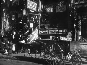 Lower East Side jewish district in NYC: Hester Street c. 1890