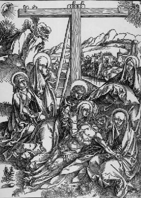 Large Lamentation of Christ / Dürer