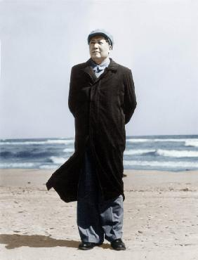 Mao Zedong on A Beach March 10,