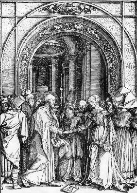 Marriage of Mary / Dürer / c.1504