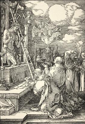 Mass of Pope Gregor I / Dürer / 1511