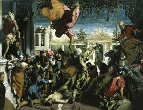 Miracle of St.Mark / Tintoretto / 1548