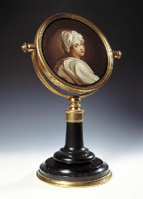 Mirror with Beatrice Cenci / Mosaic