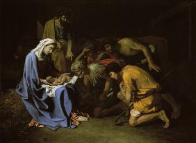 N. Poussin / Adoration of the Shepherds