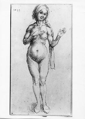 Naked Woman / Dürer / 1493