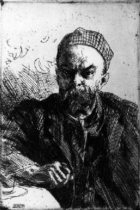 Paul Verlaine / Etch.by A.Zorn / 1895