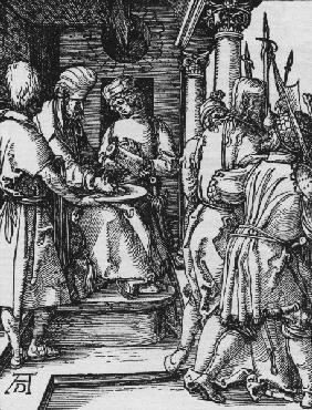 Pilate washes his hands / Dürer / c1509