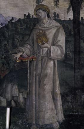 Pinturicchio / Anthony of Padua / Fresco