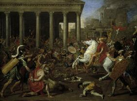 Poussin / Destruction of the Temple
