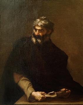 Protagoras of Abdera /Painting by Ribera