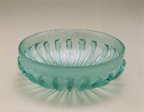 Ribbed moulded bowl, Roman...