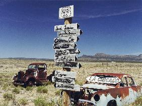 Route 66 which cross United States from Los Angeles to Chicago in 2005