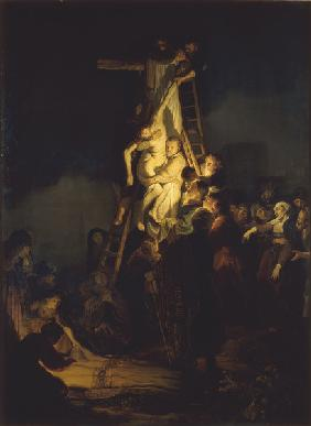 Rembrandt / Deposition from the Cross