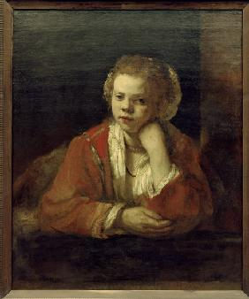 Rembrandt / Girl at the Window