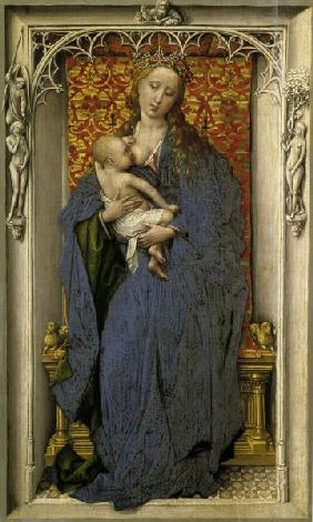 Rogier van der Weyden, Mary and Child