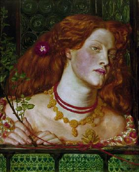 Rosamund Clifford / painting by Rossetti