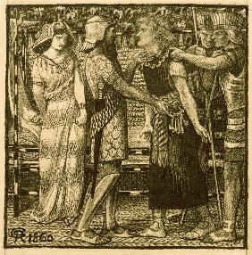Rossetti / Joseph before Potiphar
