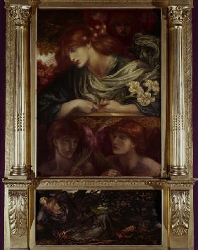 Rossetti / The Blessed Damozel, Painting