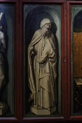 R.van der Weyden, Saint Anthony
