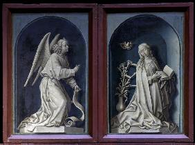 R.van der Weyden, The Annunciation