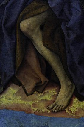 R.v.d.Weyden, John the Baptist s foot