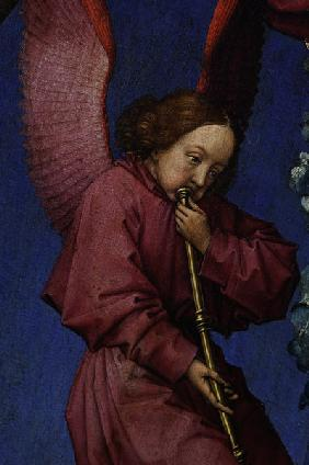 R.v.d.Weyden, Last Judgement, angel