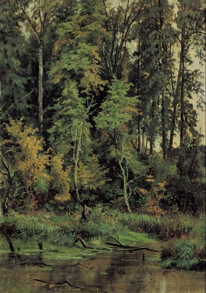 Shishkin / Autumn / Painting - Iwan Iwanowitsch Schischkin als ...: kunstkopie.de/a/schischkin-iwan-iwanowits/shishkinautumnpainting-2...