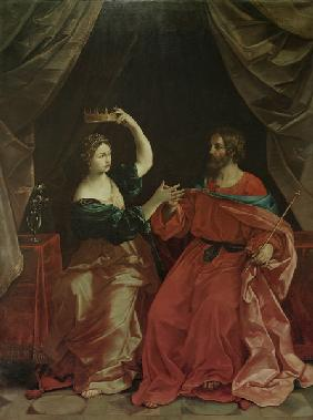 Semiramis and Ninus / after Guido Reni