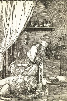 St Hieronymus in the Cell / Dürer / 1511