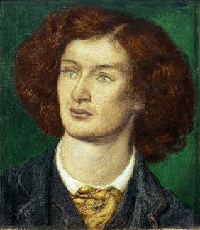Swinburne / Drawing by D.G. Rossetti