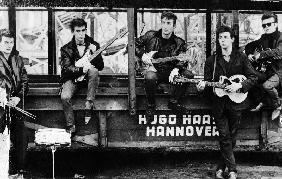 The Quarrymen in Hamburg, Germany in 1961