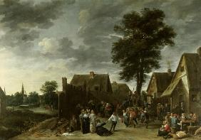 Teniers the Younger / Fair at Inn / 1641