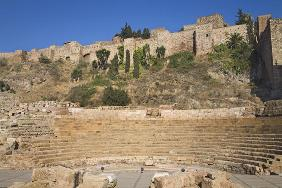 The Alcazaba and Roman Theatre (photo)