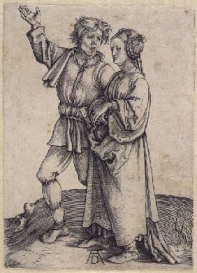 The Farmer and his Wife / Dürer / 1495
