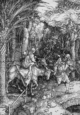 The Flight into Egypt / Dürer / 1503/4