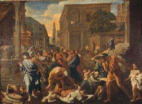 The Plague in Ashdod / Poussin / 1631