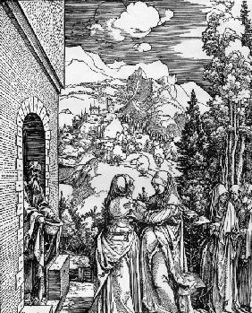 The Visitation / Dürer / c.1503/4