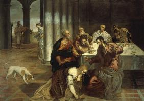Tintoretto / Anointing of Christ s Feet