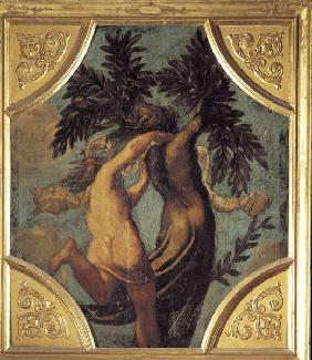 Tintoretto / Apollo and Daphne