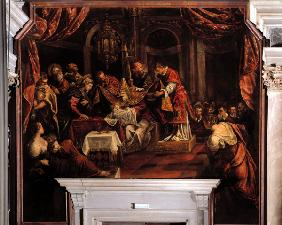 Tintoretto / Cicumcision of Christ