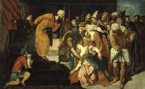 Tintoretto / Esther Faints / Painting