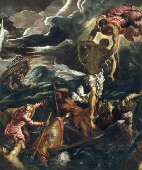 Tintoretto / Mark Saving Saracen / 1562