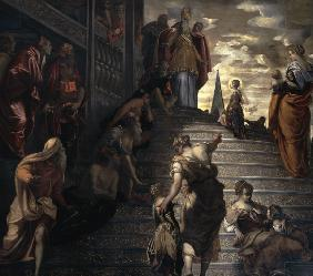Tintoretto / Mary in the Temple