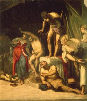 Tintoretto / Roche healing the Sick