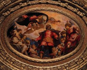Tintoretto / St.Roche in Glory / 1564